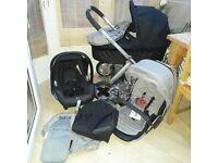 Babystyle Oyster pram pushchair & maxi cosi car seat