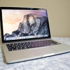 Macbook Pro 13 RETINA 8GB 2.4 i5 128GB with Office 2016 and MORE