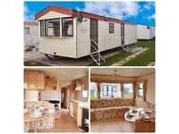 Cheap static caravan for sale on the North Wales coast! 3 bedroom / 8 Berth!