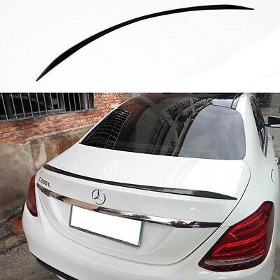 Carbon Fiber Mercedes Benz C-Class W205 4D Saloon 13-18 Boot Lip Spoiler wing