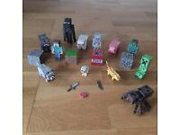 Minecraft Mini-Figures x19