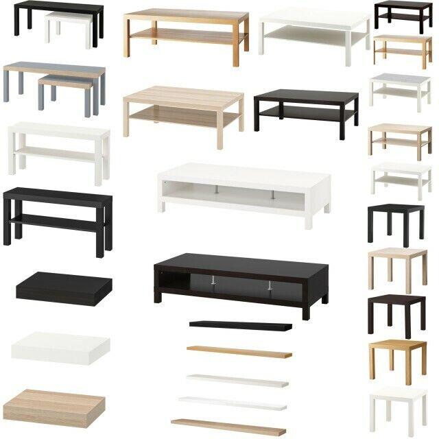 Ikea Table Lerhamn Black Brown 74x74 Cm For Sale Ebay