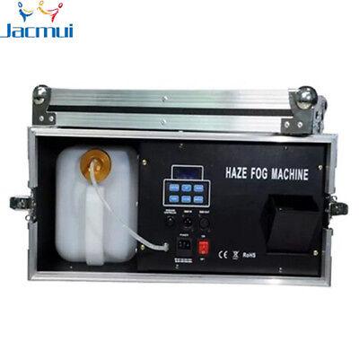1500W Haze Machine W/ Flycase Liquid Water 3.5L Fog Machine Smoke DMX - Fog Machine Liquid