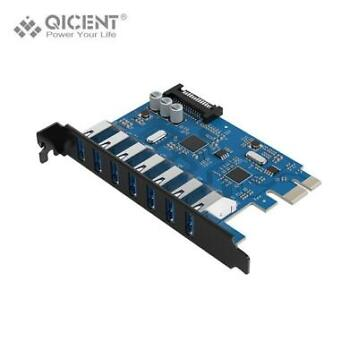 QICENT PU30 PCI Express USB 3.0 Card Adapter
