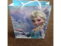 Frozen Gift bag - used once - excellent condition