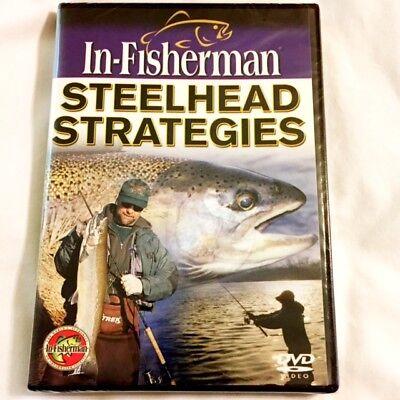 """Brand New DVD ~ In-Fisherman ~ """"Steelhead Strategies"""" ~ Fast Shipping ~  NEW"""