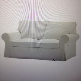 White Two Seat Sofa For sale