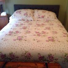 Queen Size Floral Bedspread Merrylands Parramatta Area Preview
