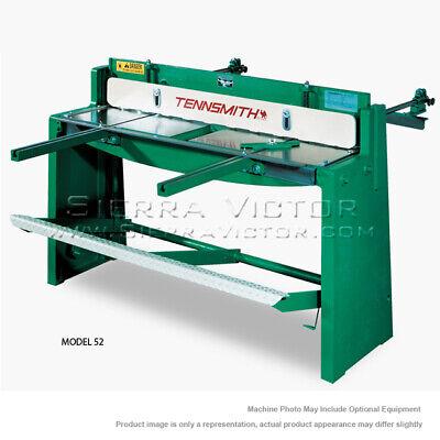 Tennsmith Foot-squaring Shear Model 52 - In Stock Now No Waiting