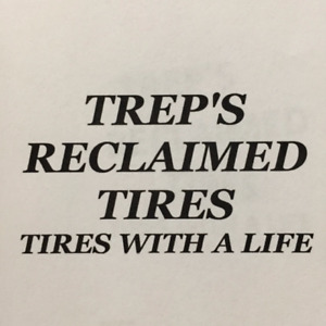 GREAT QUALITY RECLAIMED TIRE WITH A GUARANTEE