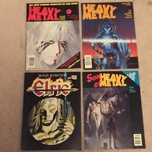 Heavy metal Mags and various Sci Fi Fantasy Mags