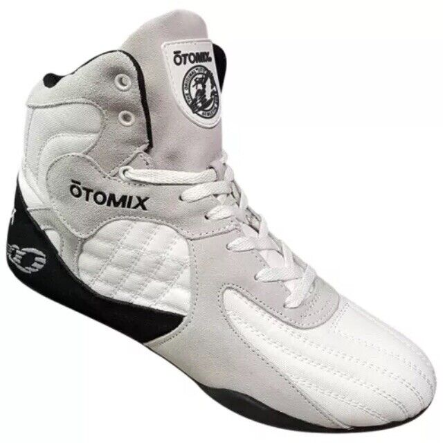 Otomix-The Stingray-Bodybuilding MMA Grappling Shoes-Size 11-White