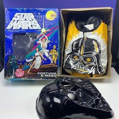 Ben Cooper mask costume Darth Vader 1977 star wars original box vintage Anakin