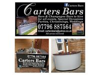 Bar's for hire for all events