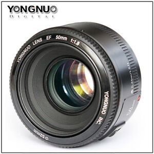 NEW YONGNUO YN 50mm F1.8 Large Aperture Auto Focus Lens f/Canon