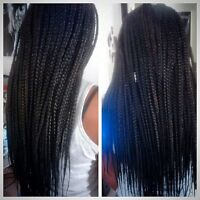 AFFORDABLE BRAID AND HAIR STYLE.