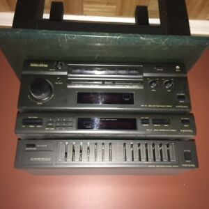 Technics amplifier- tuner and equalizer