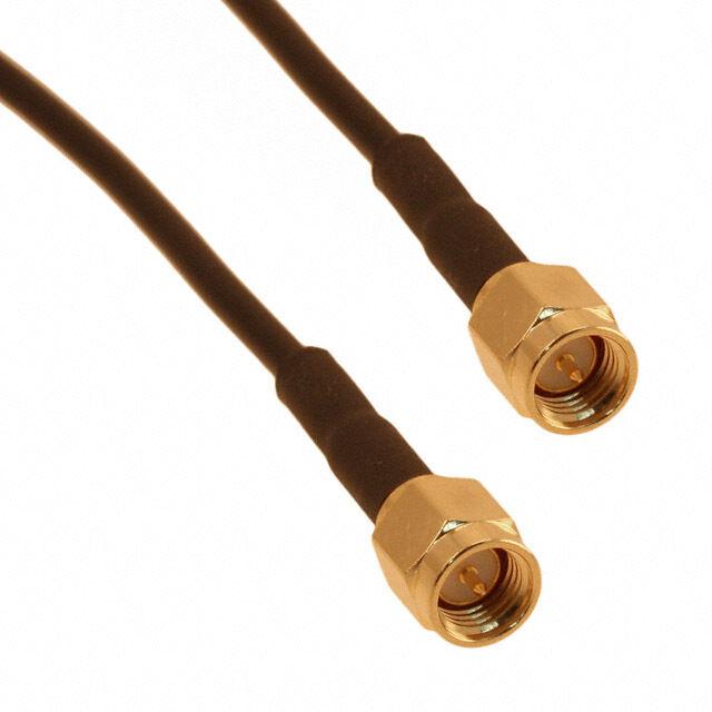 50 FT SMA plug TO  SMA plug LMR-100A  coax cable  t  50 ohm ( male to male)