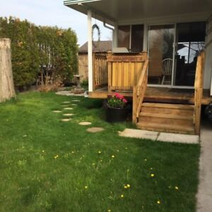 Water View Lot with 40' Trailer (& Gorgeous 3 Season Sun Room)
