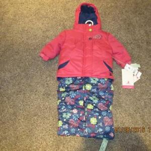 Brand New (with tags) Girls Snow Suit - Size: 12 Months