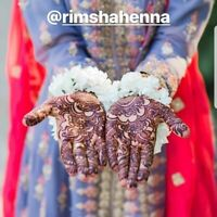 Henna Mehndi Artist available for Weddings - Organic Henna