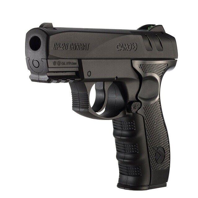 Gamo 611139754 Semi-Auto GP-20 Combat BB Fiberoptic Rear Sight Airgun Air Pistol