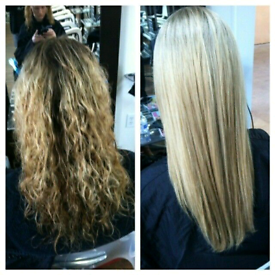 Brazilian Keratin Straightening Treatment! £65 only!!