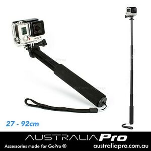 Pole for GoPro Hero 5 4 3 3+ 2 Session Telescopic Monopod Selfie Logan Reserve Logan Area Preview