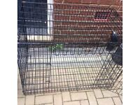 Large dog crate with base for sale