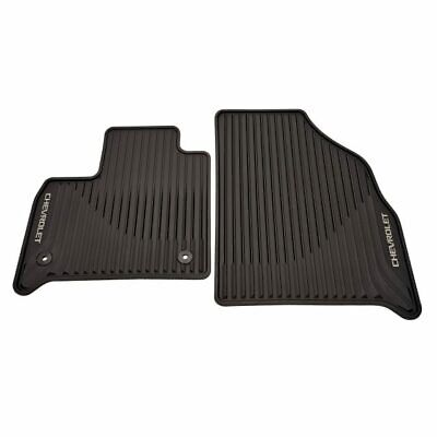 GM OEM 2018-2021 Chevrolet Traverse 1st 2nd 3rd Row + Cargo Mats in Black