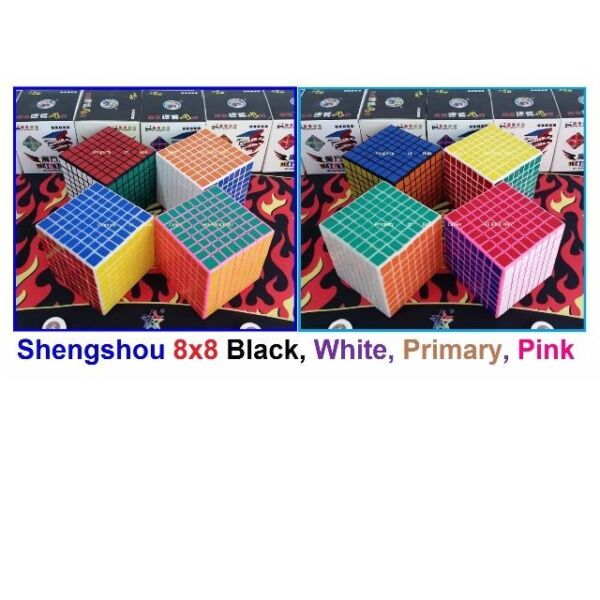 - (New Color) Shengshou 8x8 for sale ! Brand New Cube !!!
