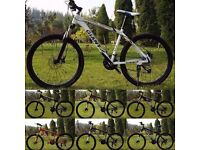 "White and Gold 2016 Giant Atx Mountain bike ""NEW"" boxed 26""1.95 Medium Size Aluminum Alloy"