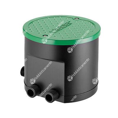 Claber 90829 Kit Irrigation Hydro 4 Zone Solenoid Valve Programmer Sprinkle