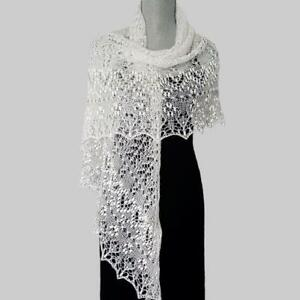 Hand knitted lace shawls,scarves,wraps and more
