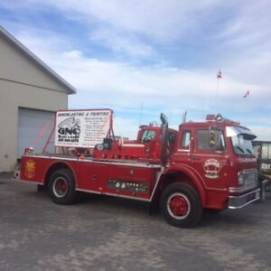 FIRE TRUCK PARADE, WEDDING, OR EVENT VEHICLE