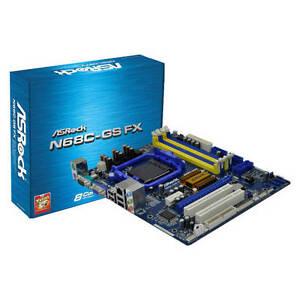 ASRock-N68C-GS-FX-AM3-AM3-AM2-AM2-NVIDIA-GeForce-7025-Micro-ATX-Motherboard