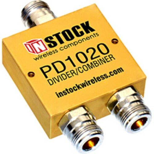 NEW InStock PD1020 - RF Power Divider, Combiner, Splitter - 2 WAY TYPE N FEMALE