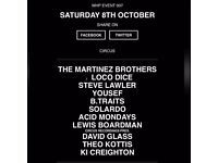 WHP October 8th 2016 Yousef presents Circus, Martinez Brothers, Loco Dice