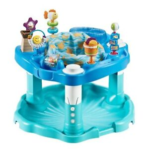 """Beach Baby""  Evenflow Exersaucer Bounce & Learn"