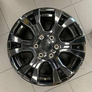 "4 X Genuine Ford Ranger Wildtrack Black Alloy Wheels NEW 18"" Liverpool Liverpool Area Preview"