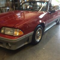 1988 Ford Mustang GT Convertible- Rare color