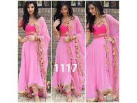 Indian Bollywood Ethnic Designer Anarkali Salwar Kameez Suit &Traditional Vt1112