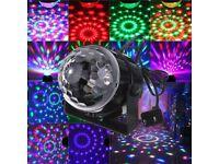 Crystal Magic Disco Ball Lamp LED RGB DJ Party Stage Digital Lighting Effect