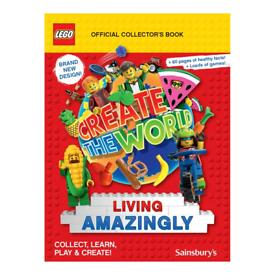 Lego Create the World: Living Amazingly Card Swap