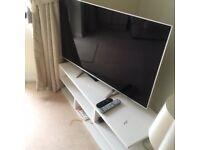 Furniture Village White TV Cabinet