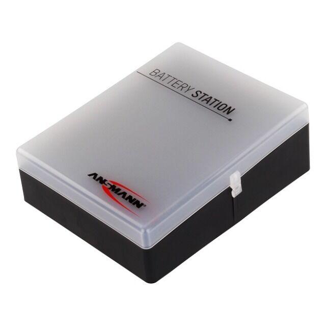 Ansmann Box für 48 Akku´s oder Batterien - mit und ohne Batterietester