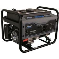 Pulsar 4650W Portable Gas-Powered Generator Space Gray 30 Amp RV Ready G465GN