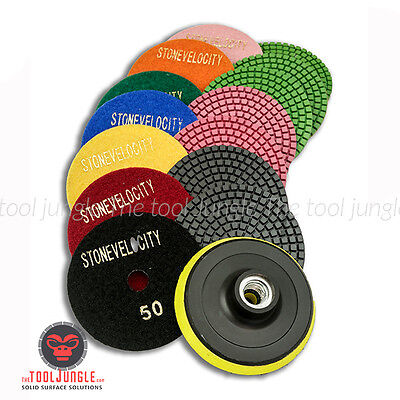 Diamond Polishing Pads 4 Inch Wetdry Granite Marble Concrete Stone Any Grit