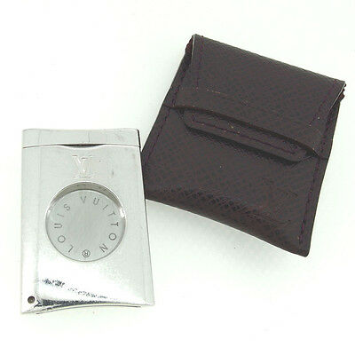 Louis Vuitton Cigar cutter Silver Woman Authentic Used Y4822