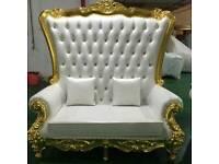 Decor Hire,Venue decoration,Throne chair hire